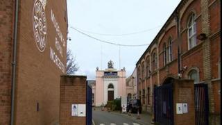 Old Royal Worcester Porcelain factory