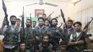 Free Syrian Army fighters. Photo: September 2012