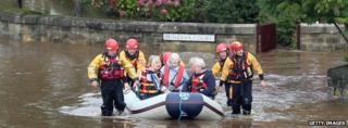 September flooding in York