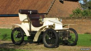 Car believed to be oldest surviving Vauxhall