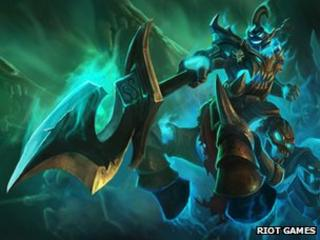 Artwork from League of Legends