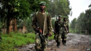 M23 rebels (file photo)