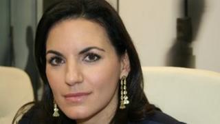 Greece's Tourism Minister Olga Kefalogianni