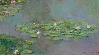 Claude Monet's Nympheas. Image from Christie's, New York