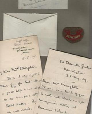 Letters from Lord Baden Powell