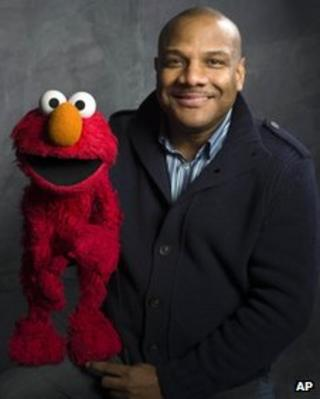 Kevin Clash with Elmo
