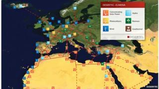 Desertec's ambitious plan