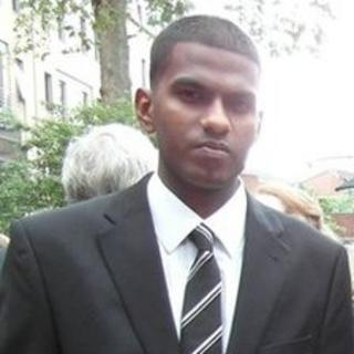 Thierry Christian-Gnanakumar, of Catford,