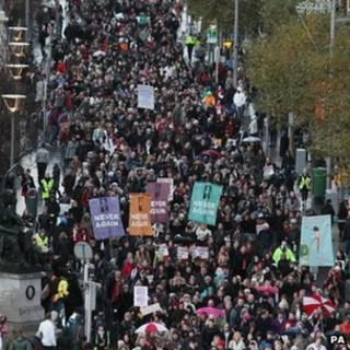 Rally in Dublin