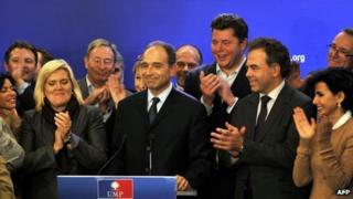 Jean-Francois Cope, newly elected leader of the UMP (19 Nov)