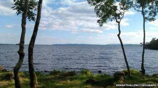 Shore at lusty beg, Fermanagh
