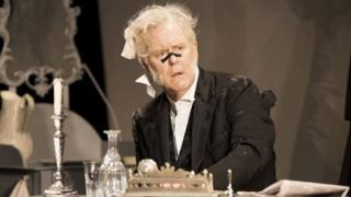 John Lithgow as the titular magistrate Mr Aeneas Posket