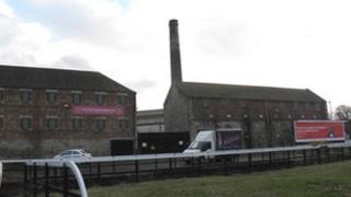 Former Rosebank Distillery