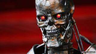 The Terminator robot