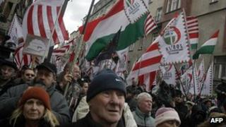 Jobbik march - file pic