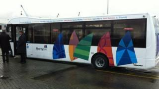 New CT Plus Jersey bus