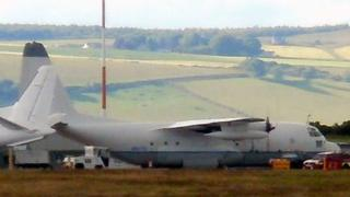 C130 at Inverness Airport