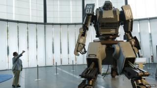 Kurata's robot