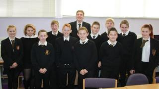 Media students and ambassadors from The Farringdon Community Sports College