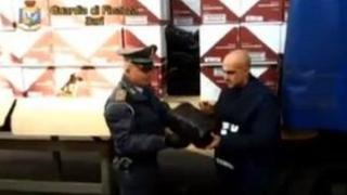 Drugs shipment in Italy