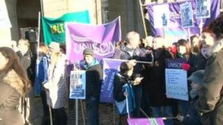 Save Our A&E rally in Bolton