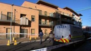 Scene of stabbing at Rialto apartment