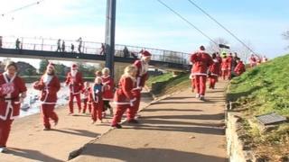 Exeter Santa Run