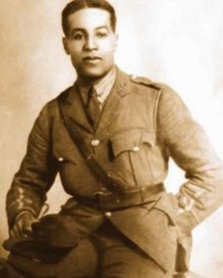 A picture of Walter Tull