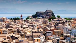Corfu city, Corfu