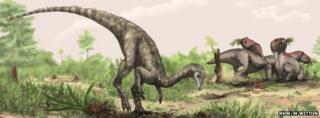 Artist's conception of Nyasasaurus parringtoni