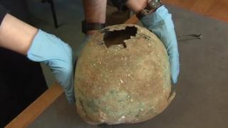 Iron Age helmet