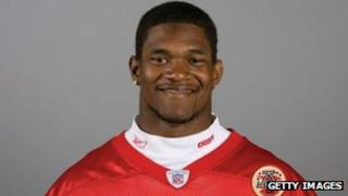 Jovan Belcher of the Kansas City Chiefs