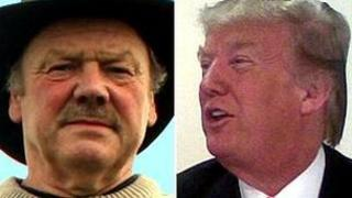 Michael Forbes and Donald Trump