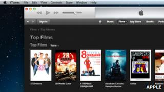 iTunes Store Russia, screengrab