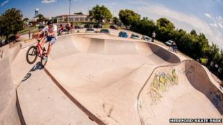 Hereford Skate Park