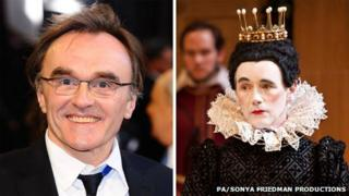 Danny Boyle and Mark Rylance in Twelfth Night