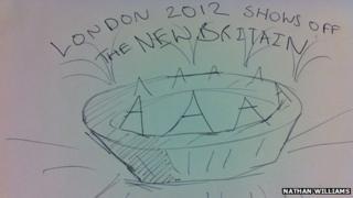 London 2012 stadium