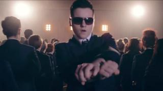 Ben Hardy in school video