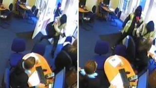 Armed robbery in Kent travel agency