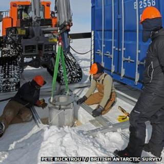 Preparations for drilling