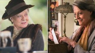 Dame Maggie Smith in Downton Abbey and The Best Exotic Marigold Hotel