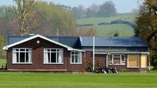 St Giles Golf Club clubhouse