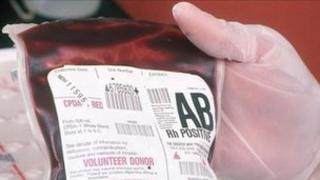 Blood plasma bag