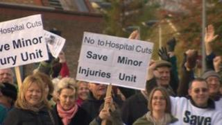 Malton protest