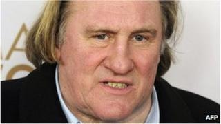 Gerard Depardieu (file image)