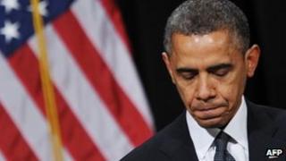 US President Barack Obama speaking in Newtown, 16 December 2012