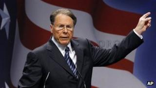 Wayne LaPierre in Washington, 10 February 2011