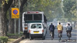 Bus in Delhi (file photo)