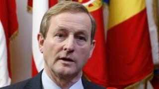 Irish PM Enda Kenny