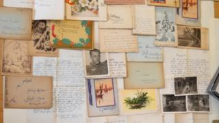 Letters from German soldiers